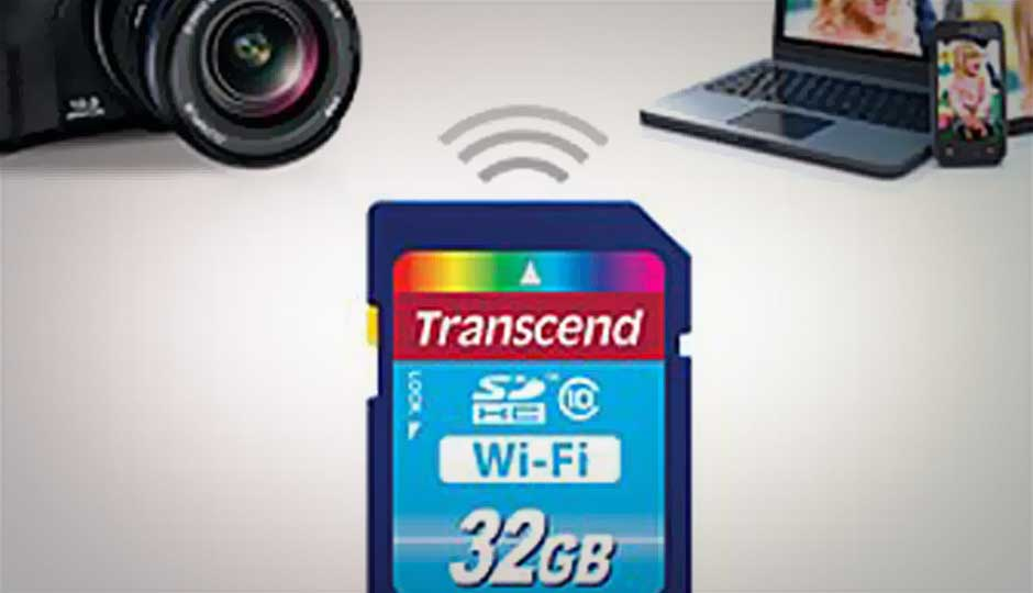 transcend launches wi fi enabled sd card. Black Bedroom Furniture Sets. Home Design Ideas