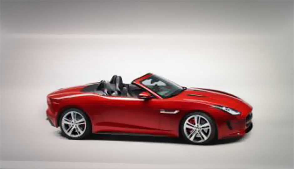 Jaguar Launches F Type Sports Convertible In India