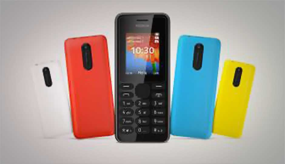 Nokia 108 Feature Phone With 2mp Camera Announced For Rs