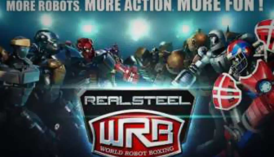 Real steel boxing champions real steel world robot boxing.