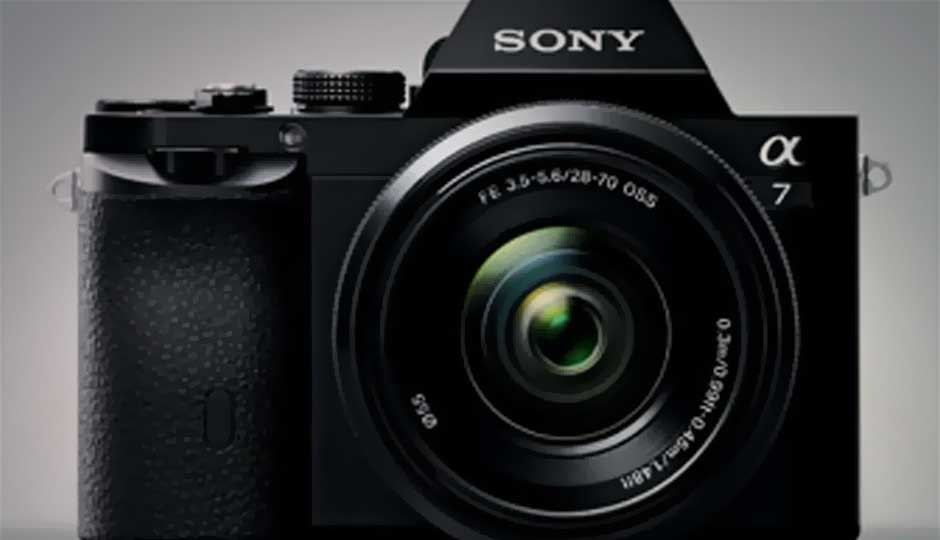 Sony A7 and A7R Full Frame Mirrorless Camera hands On | Digit.in