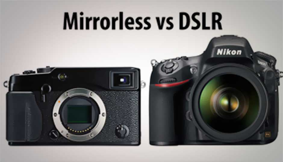 How mirrorless cameras are creeping upon the DSLR territory