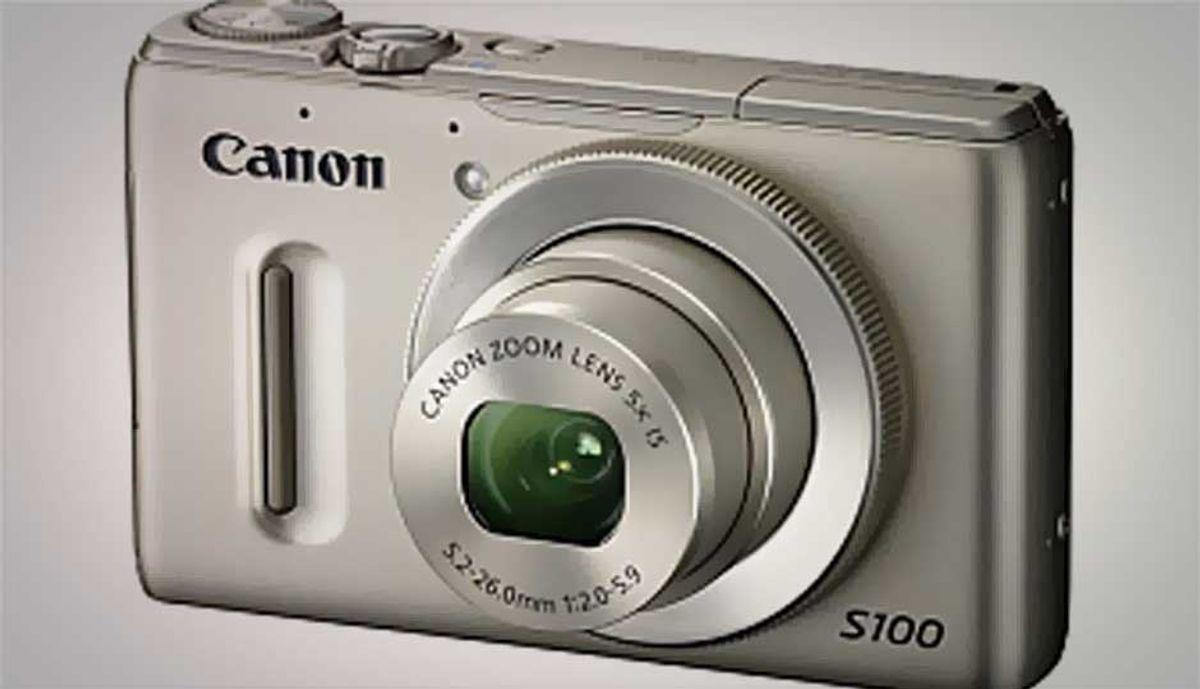 कॅनन Powershot S100