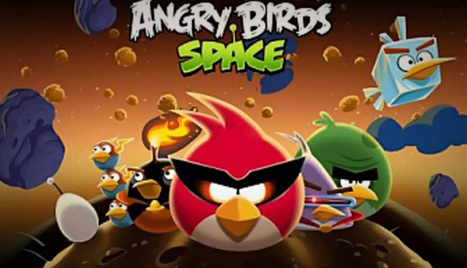 Rovio Confirms Angry Birds Space, The Birds Arrive in The Space