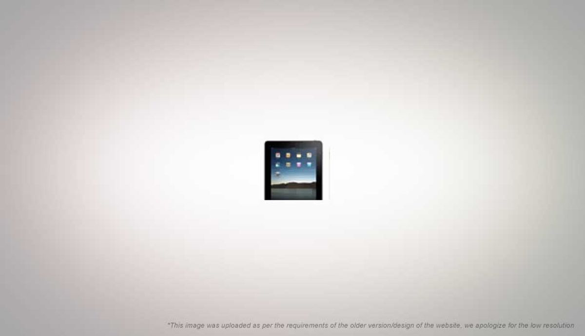 ऍप्पल iPad : Part I, the iPad experience