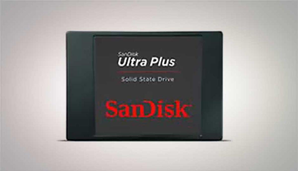 SanDisk Ultra Plus 256GB SSD