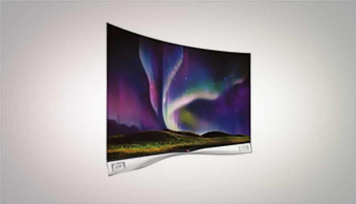 LG 55EA9800 curved OLED TV