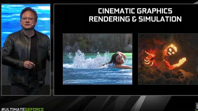 NVIDIA GeForce GTX 1080 Ti Jen-Hsun Huang Cinema