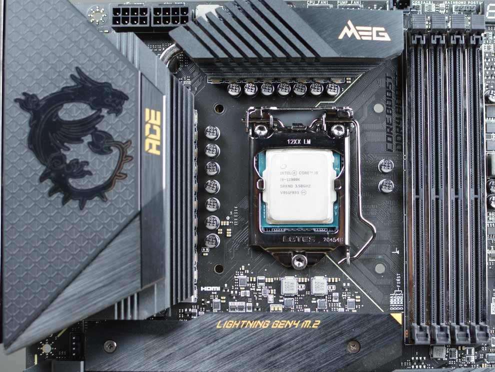 MSI MEG Z590 ACE Gaming Motherboard CPU for Intel 11th Gen