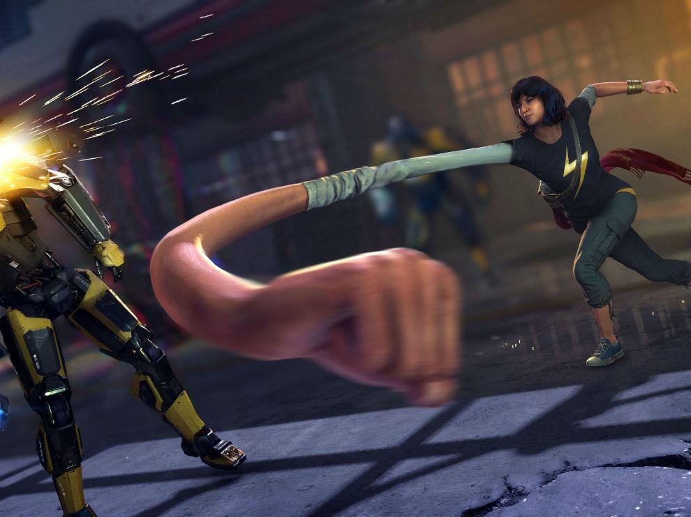 Kamala Khan has an interesting set of abilities.