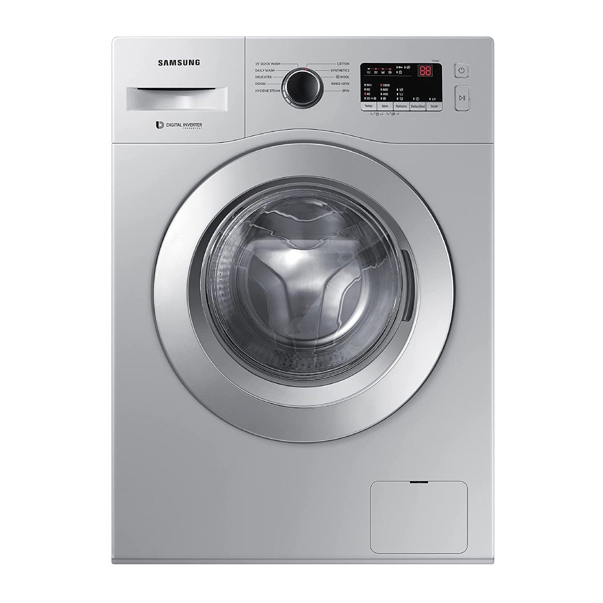 Samsung 6.0 Kg Inverter 5 Star Fully-Automatic Front Loading Washing Machine (WW60R20GLSS/TL)
