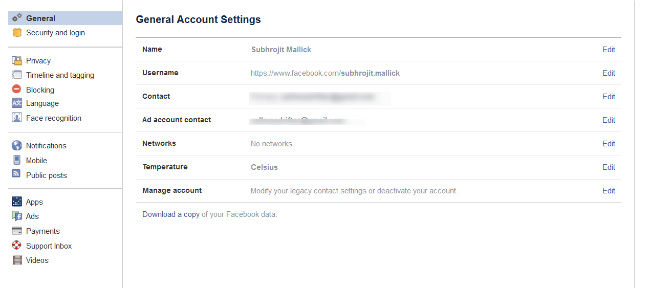 How to backup your Facebook account and save an offline