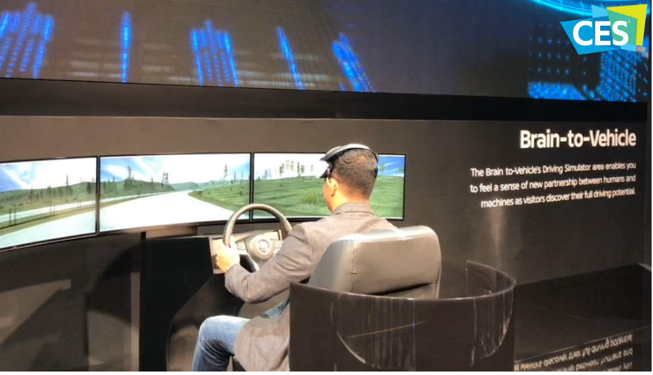 Nissan�s Brain-to-Vehicle technology can predict driver actions by scanning the brain