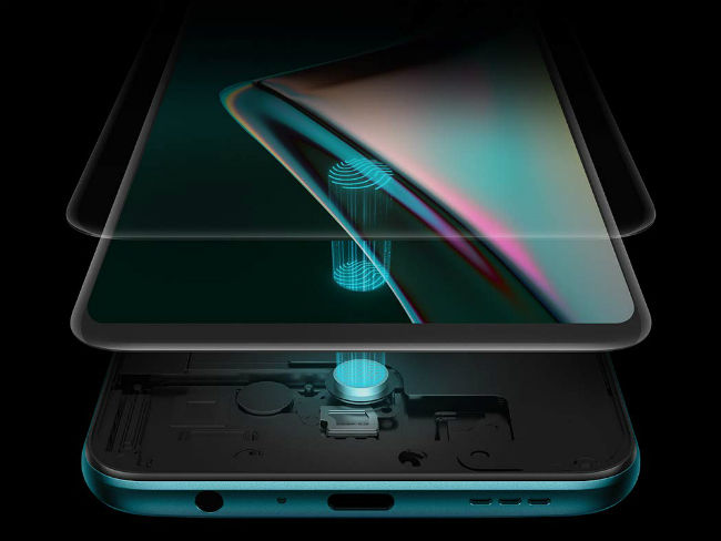 Oppo K3 In-Display Fingerprint Sensor