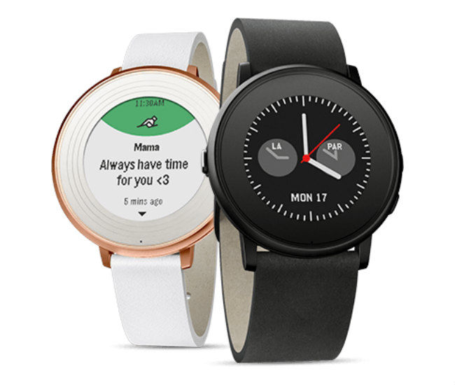 Pebble Smartwatch with E-Paper Display