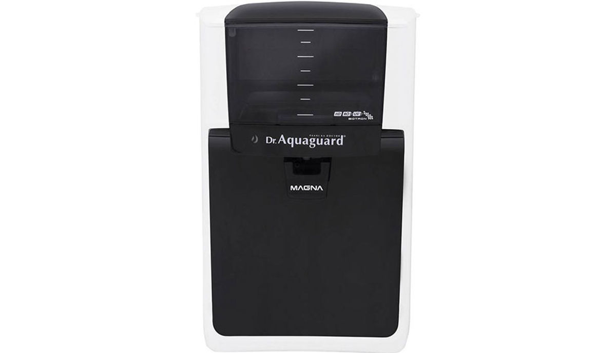 Aquaguard Magna HD RO+UV 7 L RO + UV Water Purifier (Black & White)