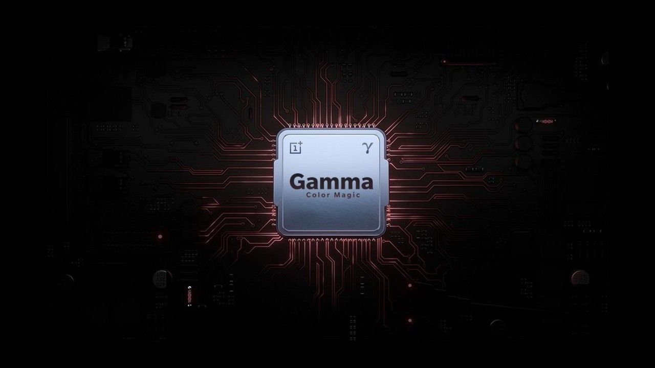 OnePlus TV will have a custom Gamma Color Magic processor