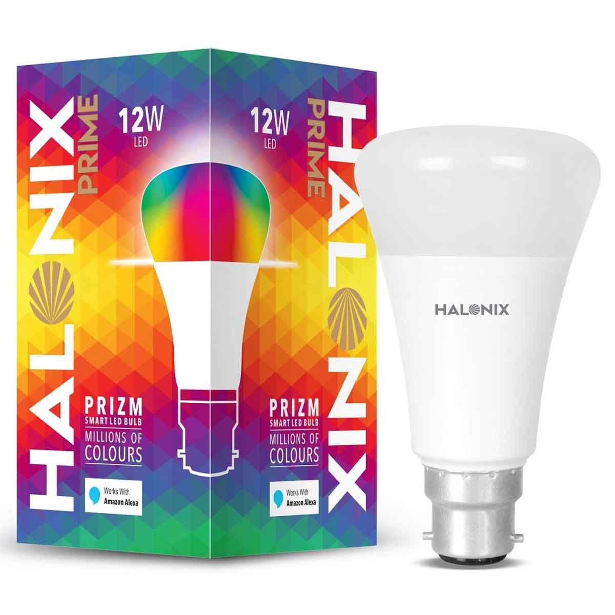 Halonix Prime Prizm Smart 12 Watt LED Bulb