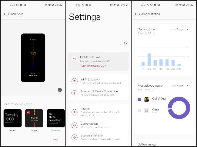 OnePlus OxygenOS 11 Public Beta