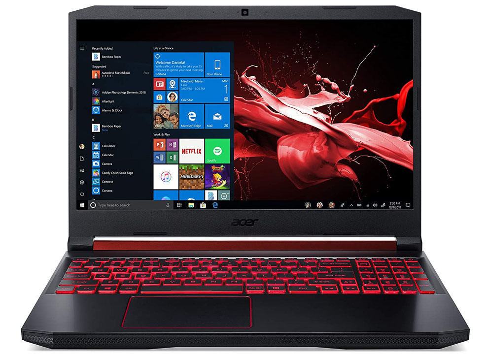 Acer nitro 5 is one of the most popular budget gaming laptops in India