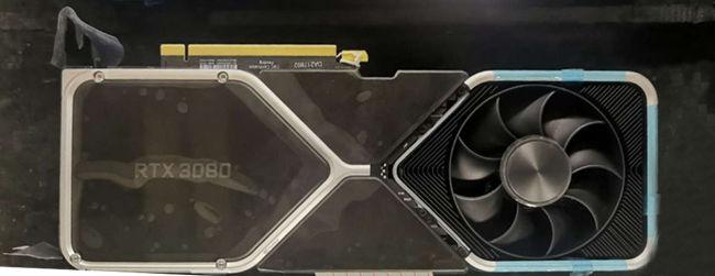 NVIDIA RTX 3080 Graphics Card cooler design