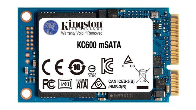 Kingston KC600 mSATA SSD 2TB SATA 3