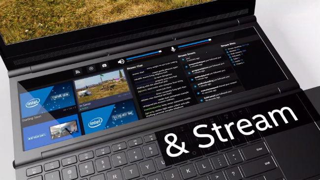 Intel Honeycomb Glacier gaming laptop prototype features