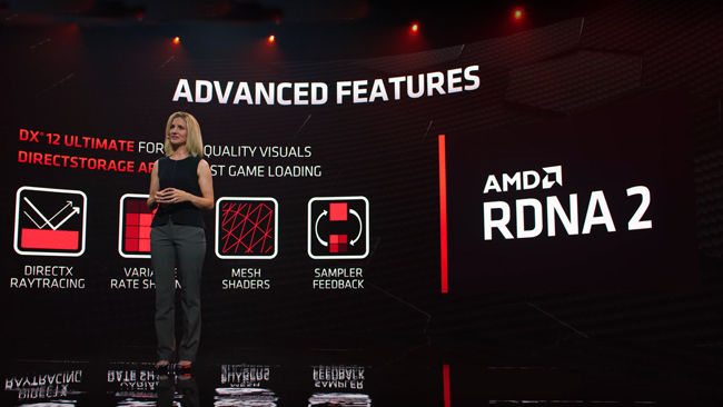 AMD Radeon RX 6000 Graphics Card features Infinity Cache DirectX 12 Ultimate Ray Tracing Laura Smith