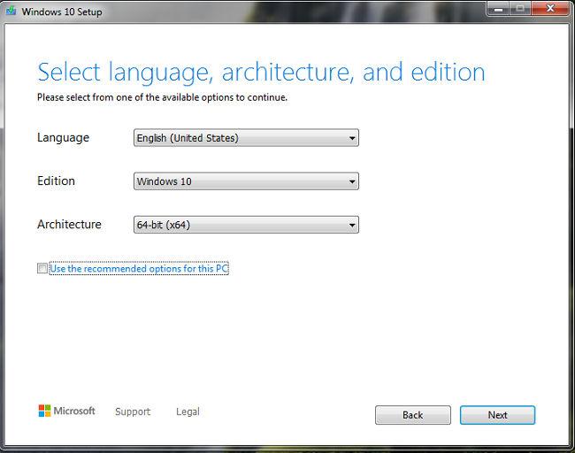 Language and edition tool