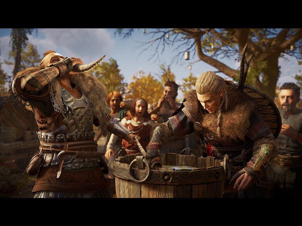 Assassin's Creed Valhalla minigames