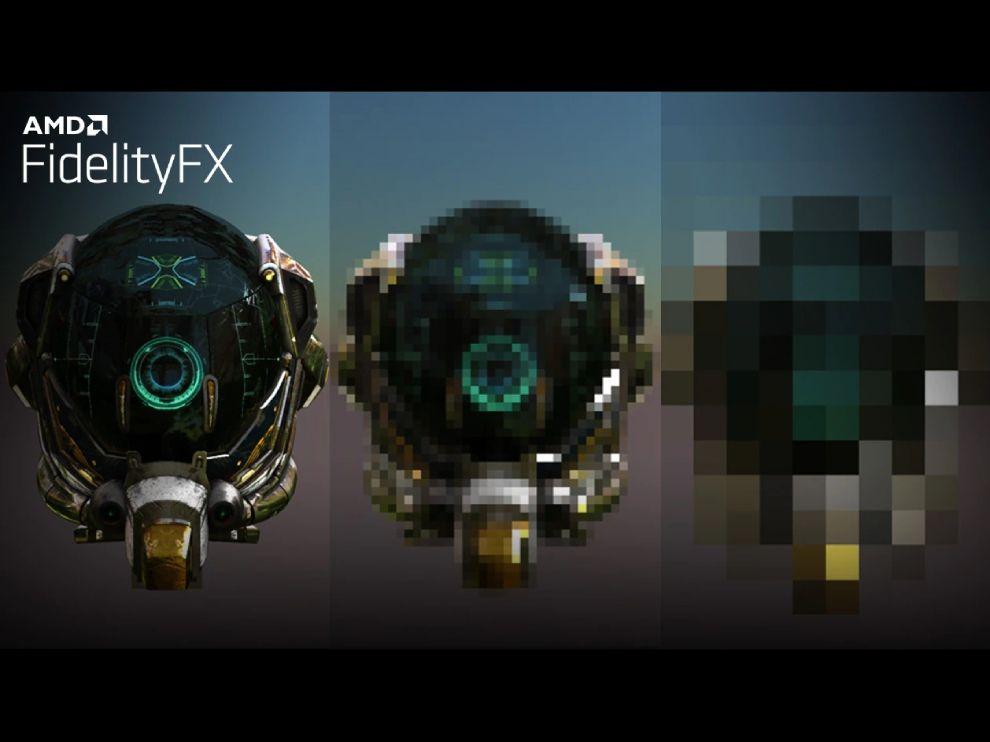AMD Fidelity FX Super Resolution