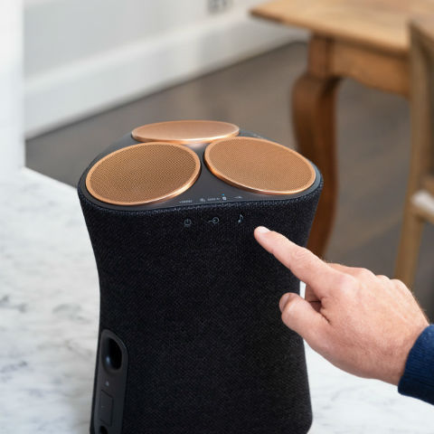 Sony launches 360-degree reality audio speakers