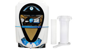 Kinsco Aqua Zoom 13 L RO + UV + UF + TDS Water Purifier (white,black)