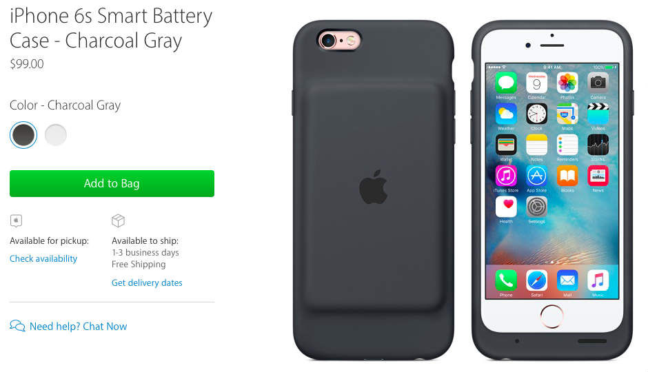 65c2c7fde33 Apple s  99 iPhone battery case is a silent nod to its battery woes ...