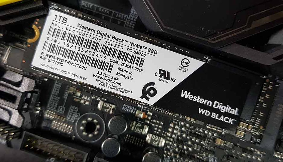 WD Black NVMe SSD 1TB (2018) Review