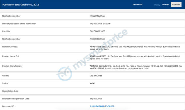 Asus Zenfone Max Pro M1 could be getting an upgrade soon, Zenfone