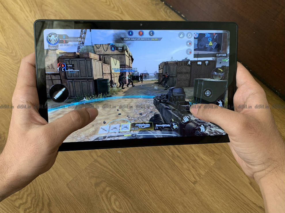 The Samsung Galaxy tab A7 can play games well