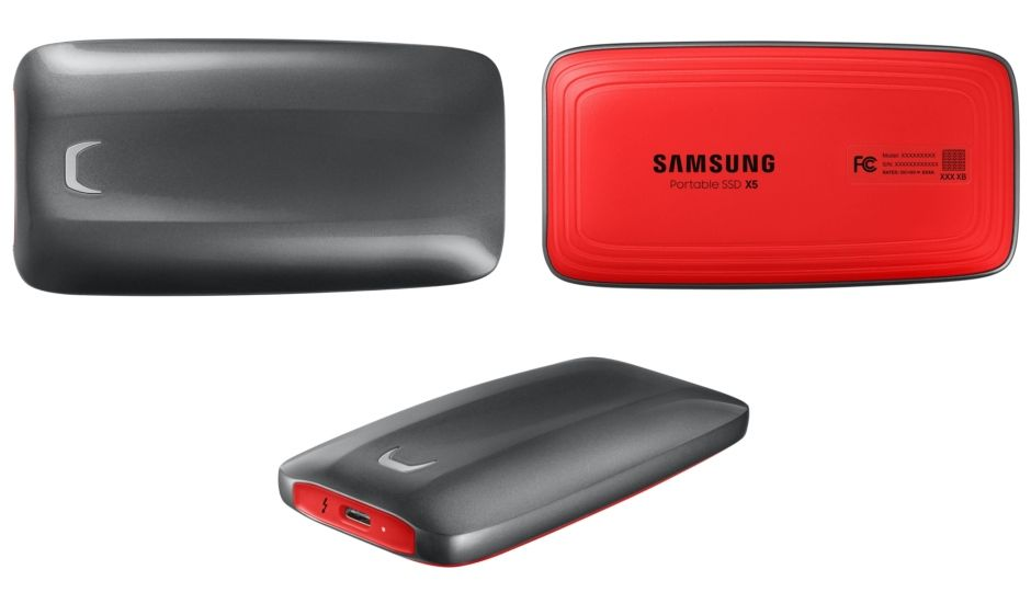 Samsung S New Portable Ssd X5 With Thunderbolt 3