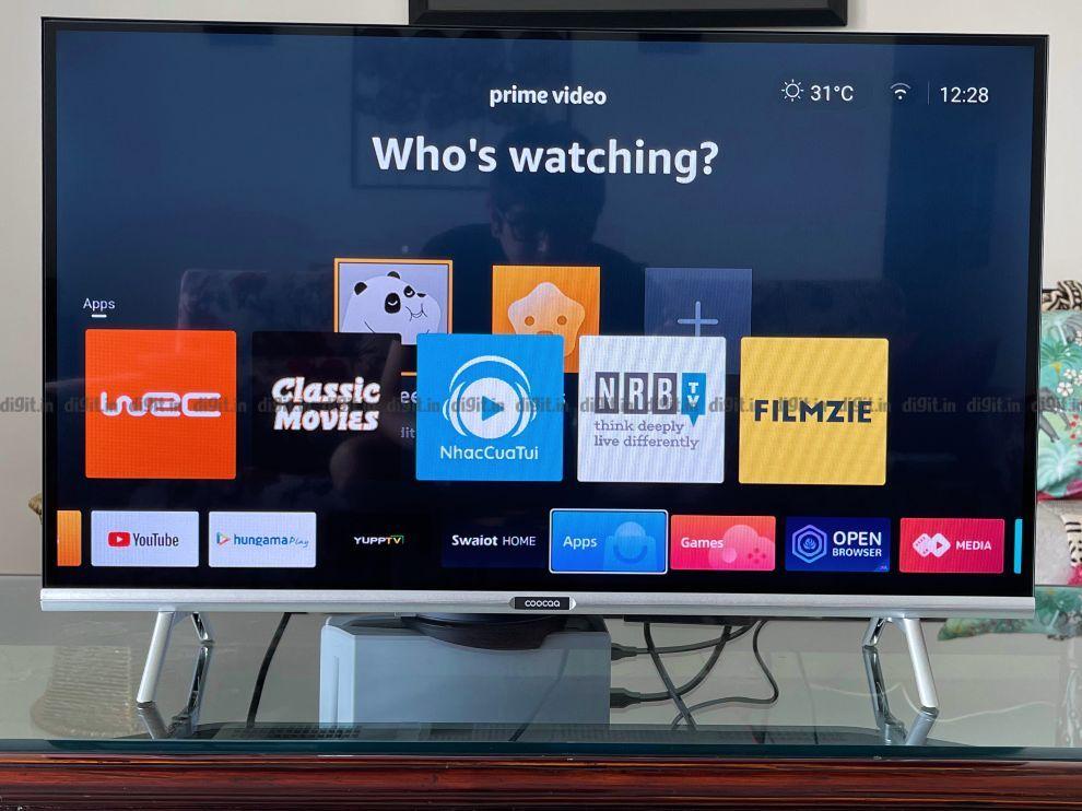 Coocaa TV runs on the Coolita OS 1.0.