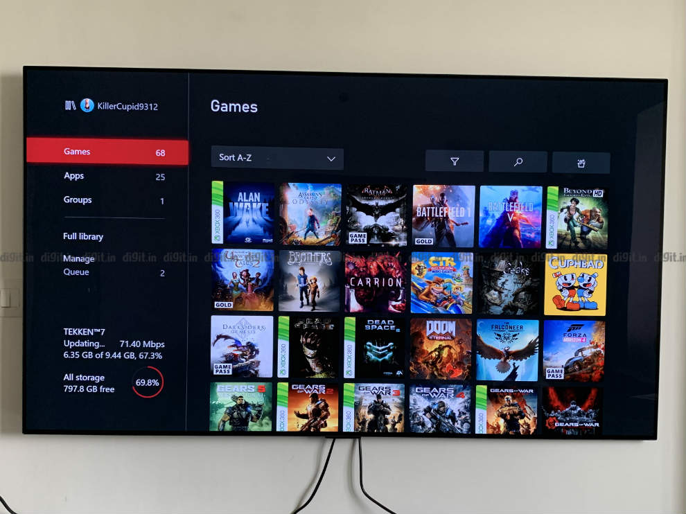 The LG GX is a great TV for gaming.