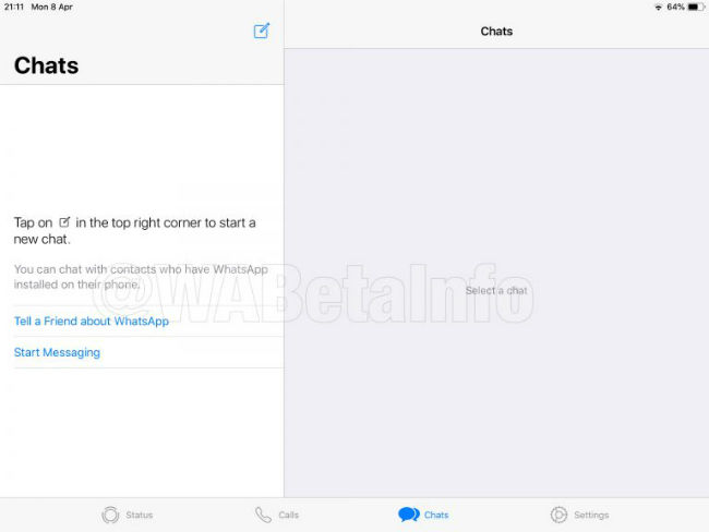 Whatsapp For Ipad App Spotted Under Development New Beta