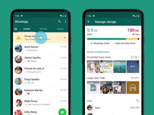 WhatsApp Storage Management tool released