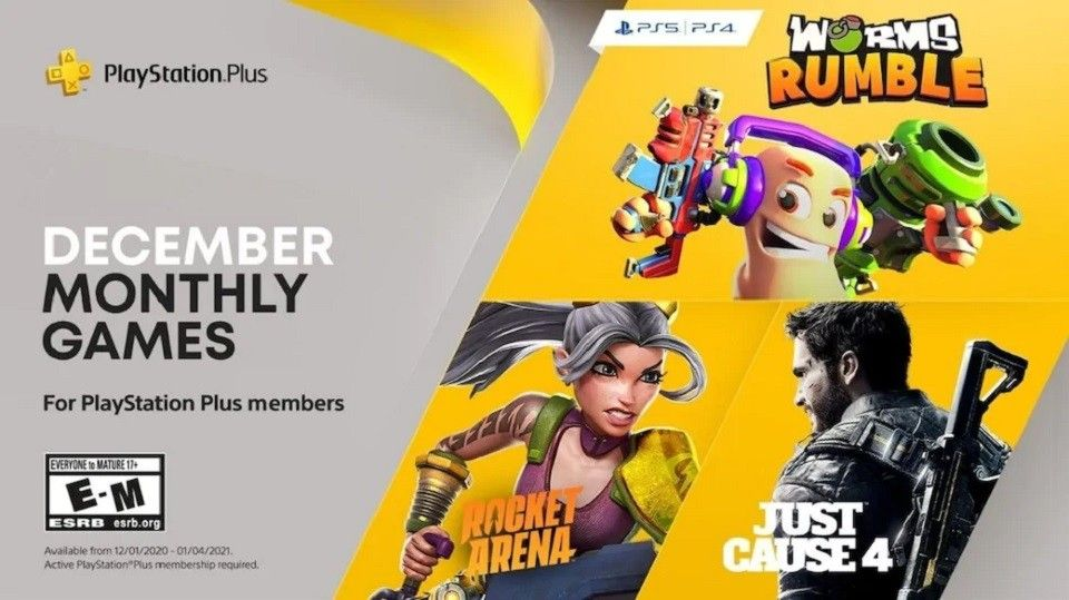 Free PS Plus games