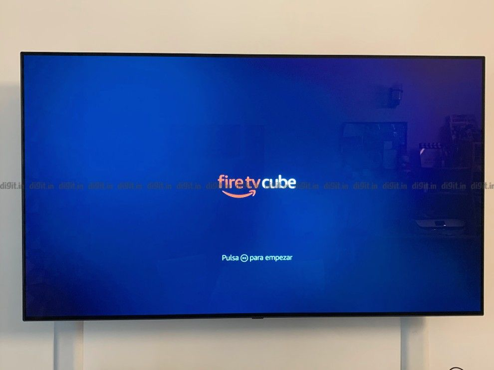The Fire TV remote pairs with the cube using Bluetooth.