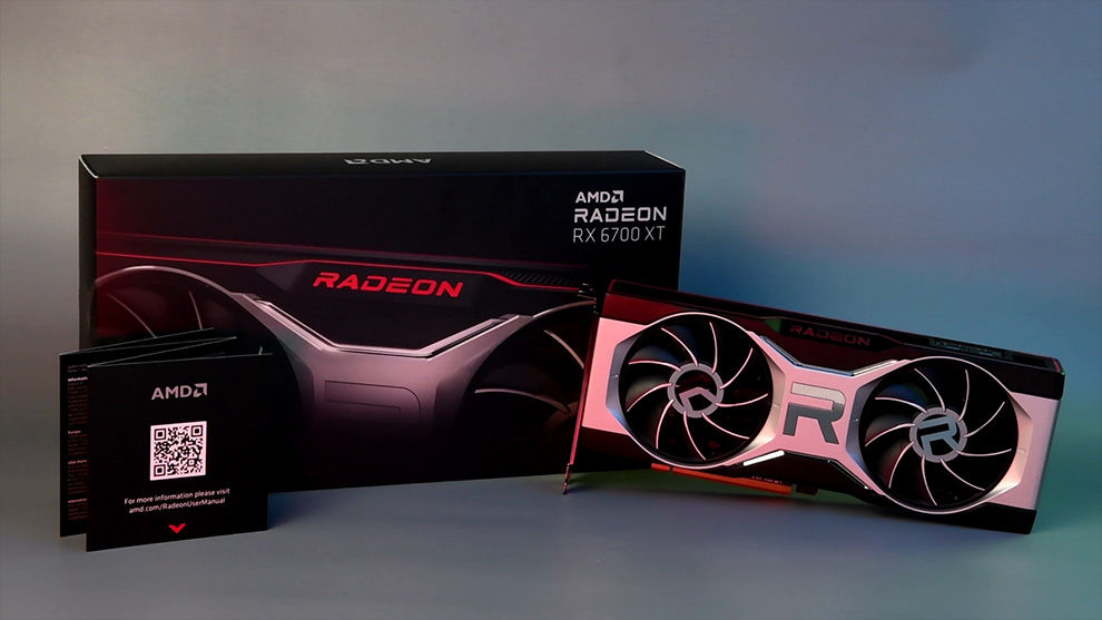 AMD Radeon RX 6700 XT Graphics Card RDNA 2 Packaging