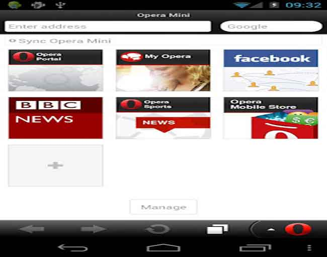 Opera Mini 7 launched for Android