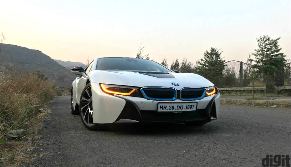 The Bmw I8 In Photos Bmw S Tech Heavy Poster Boy For The Future