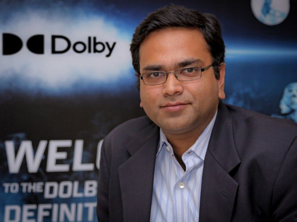 Ashim Mathur, Senior Regional Director, Emerging Markets, Dolby Laboratories