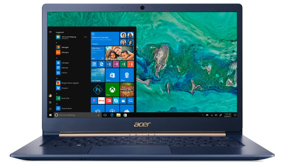 Acer launches Swift 5 bd81b543630ae
