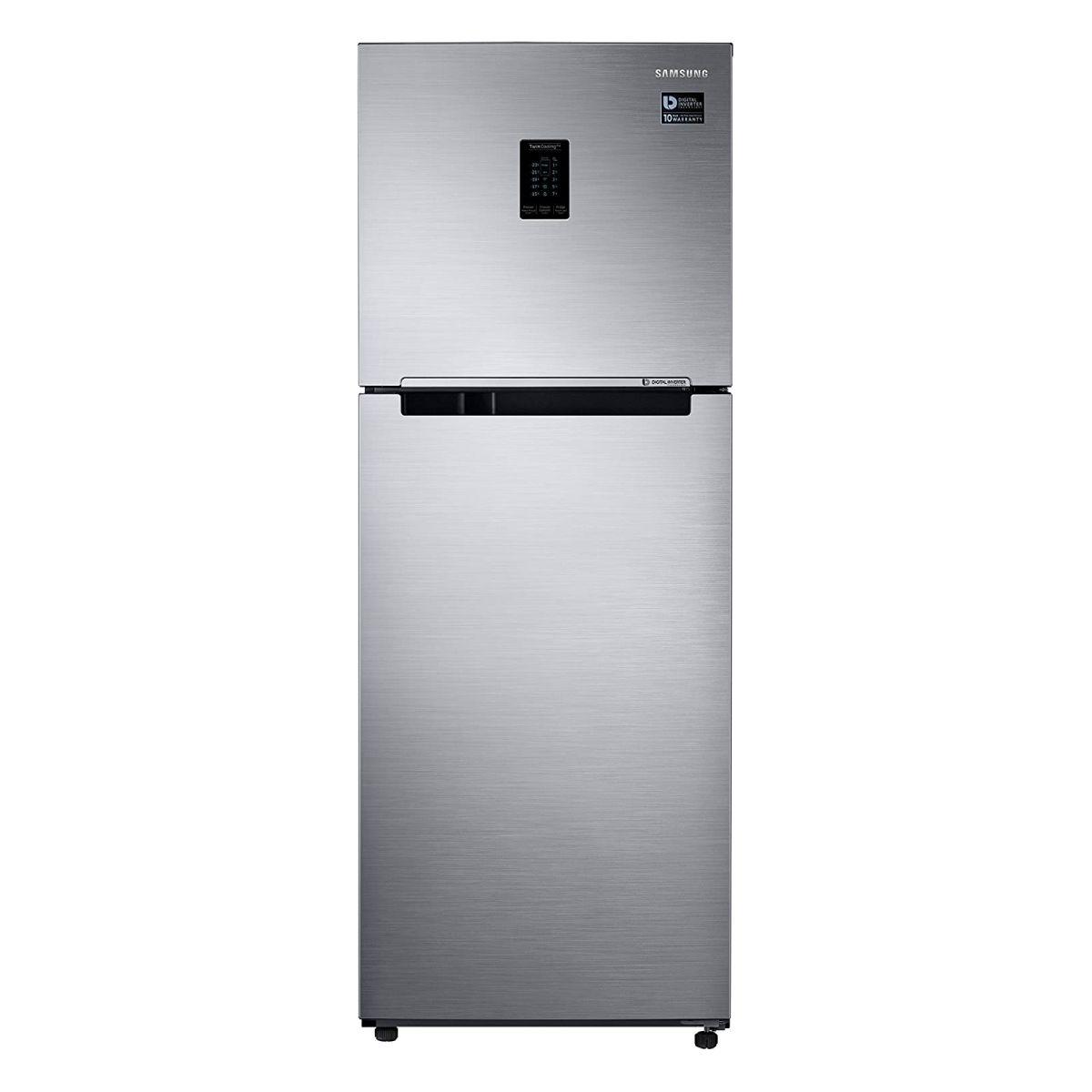 Samsung 324 L 2 Star Inverter Frost Free Double Door Refrigerator (RT34M5538S8/HL)